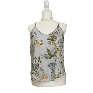 Oyosho Strappy Floral Camisole Top NWT